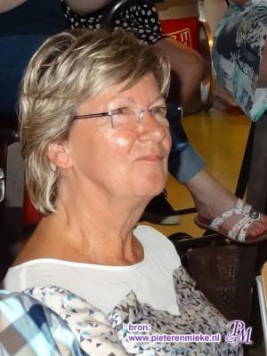 Ine Rijntjes, docent Nederlands op Sancta Maria, Elkervoorde en tenslotte het Alfrinkcollege