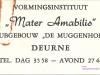 1960-er jaren Mater Amabilis logo wm